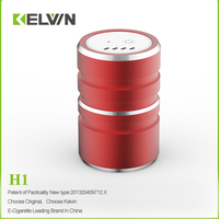 Newest patented high quality kelvin electronic hookah H1 hookah coal alternatives