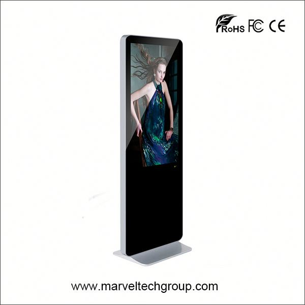 55 inch floor stand digital signage webcloud-base screen lcd lg