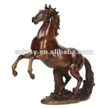 antique brass Home Goods Has the Horse Made like a Driftwood