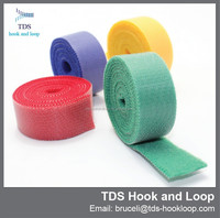cut to length durable colored double sided hook and loop tape