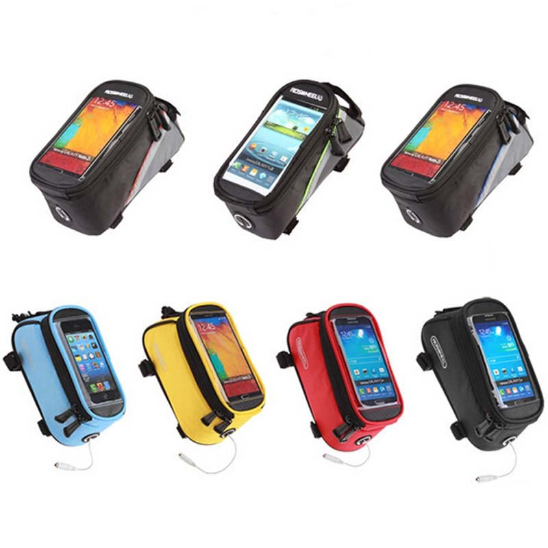 Outdoor Sports Mountain Bike Mobile Phone Case bag