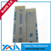 0.5mm pitch ffc cable assembly 1.25mm pitch ffc cable