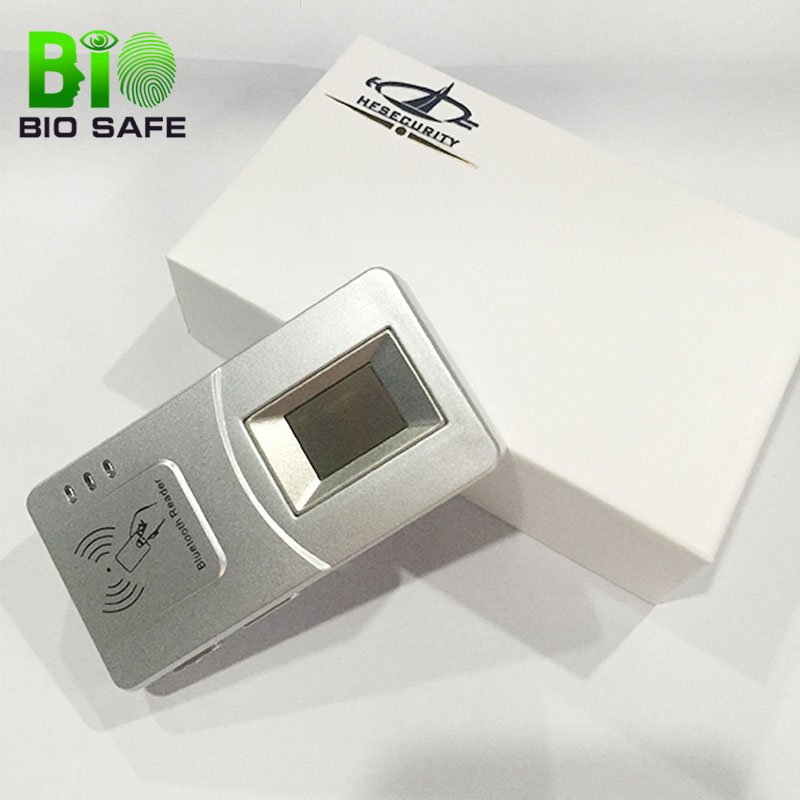 Android Bluetooth Fingerprint Reader With IC Card Reader Writer Biometric Voter Registration HF7000-Big Sensor