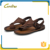 handmade fashion leather shoes sandal men