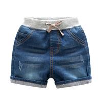 2017 new design fashion boy short pant jeans