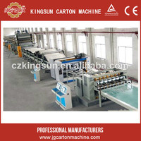 High Speed Automatic Leaving Board Machine / Corrugated Carton Leaving Partition Making Machine