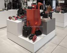 Handbag exclusive shop commercial furnitures for brand bag store decoration
