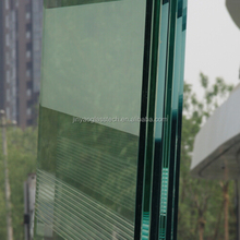 Beijing manufacture 6+6mm tempered glass pool fence panels laminated safety glass