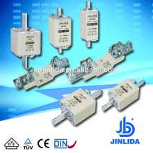 Low voltage ceramic porcelain NH type fuse