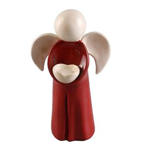 Wholesale Christmas Ceramic Angel ceramic angel figurine for table decor