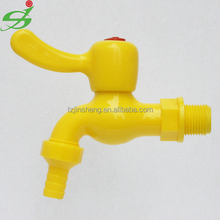 Plastic Water Tap For Washione Machine,JS High Quality Plastic Light Water Tap/Faucet