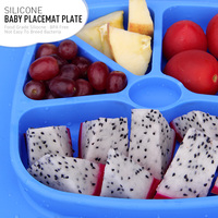 The Newest Unique Designed BPA Free Silicone Kids Food Container