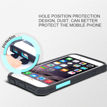 pc tpu case for iphone 6 hybrid armor hard cover shockproof back cover Jazz style Combo cover case for iphone 6s