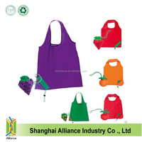 Practical and novelty lightweight folding fruit shopping bag