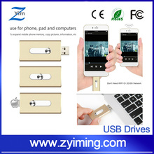 Zyiming new style SD TF mobile phone otg usb card reader 2-in-1 usb flash drives For phone memory up to 128GB For Iphone Andriod