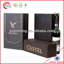 wine paper gift boxes with bib bag in box wine dispenser for wine wholesale