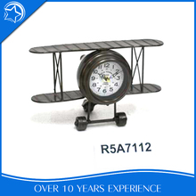 Design Bedroom Iron Analog Unique Vintage Decoration Table Clock