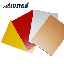 Alusign thin wood acm panel for home decoration