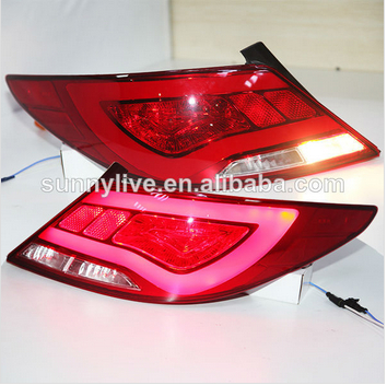 Accent Verna Solaris For Hyundai LED Tail Lamp 2011-13 year YZ Type