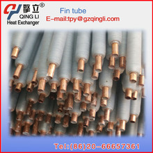 Factory directly heat exchanger copper fin tubes for steam radiator