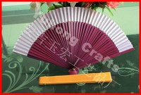 High quality Japanese silk hand fans for dance