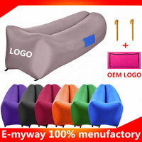 Most popular in USA new air bag inflatable lazy sofa outdoor recreation air lounger