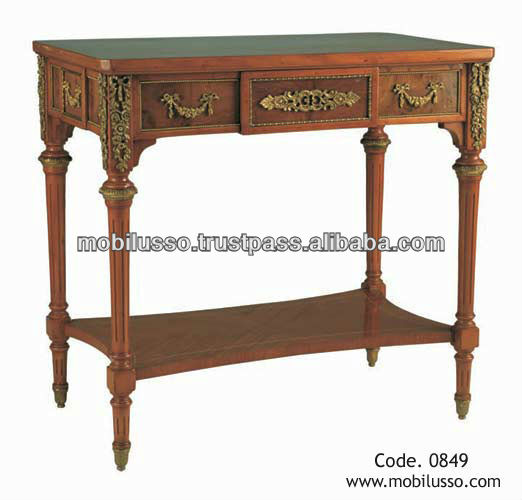 European Antique Console Table