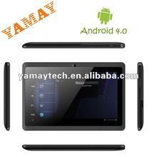 Android 4.0 most cheap 7inch A13 tablet pc 1.2G wifi front camera OTG 512M/4G 5 points capacitive ultra slim