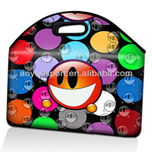 Cute neoprene laptop carry case , neoprene laptop sleeve (factory)