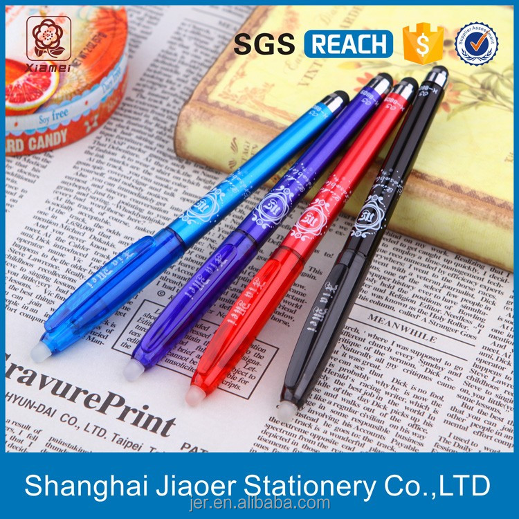 12 pcs in color box packing erasable mini stylus pen for smartphone(X-8809)