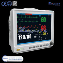 "CE approved 12"" TFT Multi-Parameter Ambulance Patient Monitor"