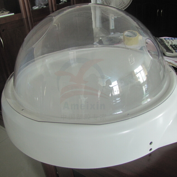 custom vacuum formed large plastic domes