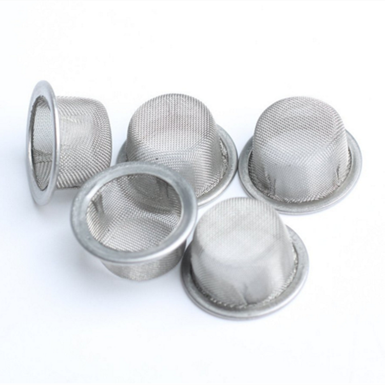 304 stainless steel titanium brass smoking filter wire mesh round bowl crystal smoking pipe screens