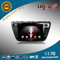 For Suzuki Parts Accessories 8 inch 2 din HD touch screen car dvd player special for Suzuki SX4 S-cross 2014
