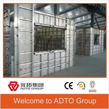 Concrete Forms for Building Construction/4mm High Panel Strength/Aluminum Formwork /Tie Rod System