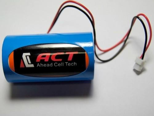 SIZE D,ER34615M, ACT Hot Product Lithium Battery 14500 mAh Nominal Capacity.