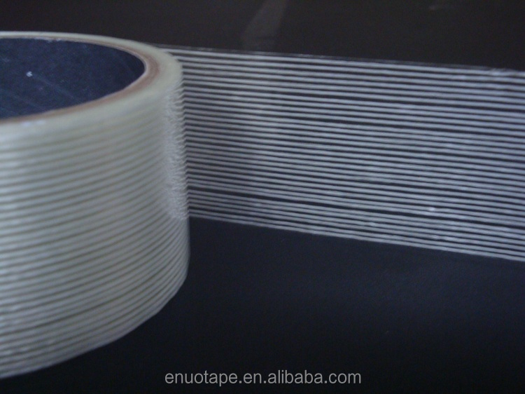 High Tensile Strength Strapping Packaging Application Fiberglass Reinforced Clear Mono Filament Tape