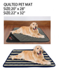 Quilted pet Sleeping house bed
