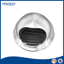 stainless steel ball weather louver with insect screen