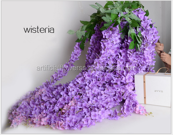 Wholesale Cheap Artificial Wisteria Flower For Wedding Buy