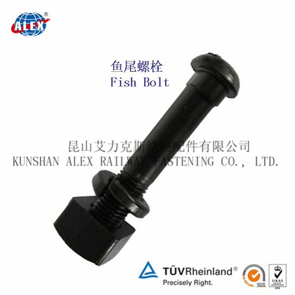Grade 4.6 5.6 8.8 10.9 12.9 High Strength Rail Joint Bar Bolt