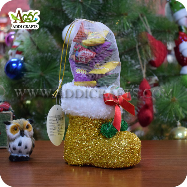 2017 New Designs Holiday Boot Christmas Boot Toy