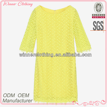 Ladies fashion factory company new design famous brand women dress