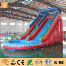Green Environmental Inflatable Pool Slide Water Slide Inflatable