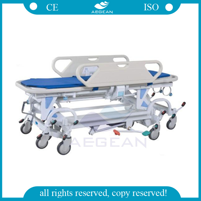 AG-HS021 CE,ISO approved eight wheels conomic exchange stretcher
