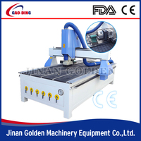GT-R1325 new cnc router lathe engraving cutting milling carving machine/wood MDF plywood/CE ISO CO/cheap sale/good service
