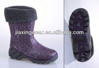 New Injection boots for toddler girls for outdoor and promotion,light and comforatable