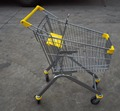 European supermarket shopping Trolley carts with Caddie style