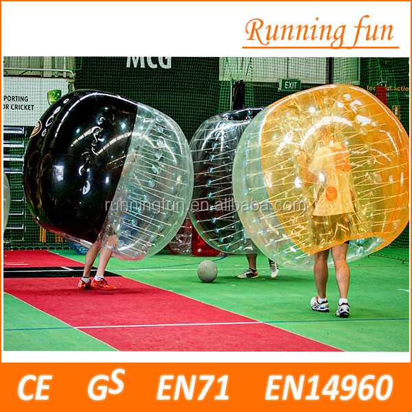 HOT!! best selling CE TPU/PVC human inflatable bumper bubble ball for Outdoor Sports
