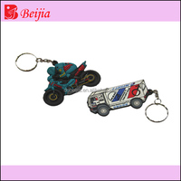 Custom 3D car Silicone Hanging Ornament